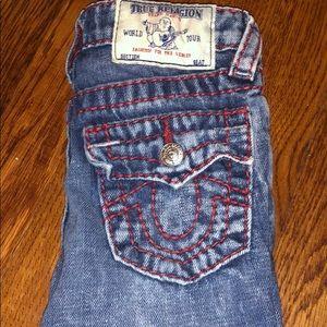 Kids True religion jeans! Size 5